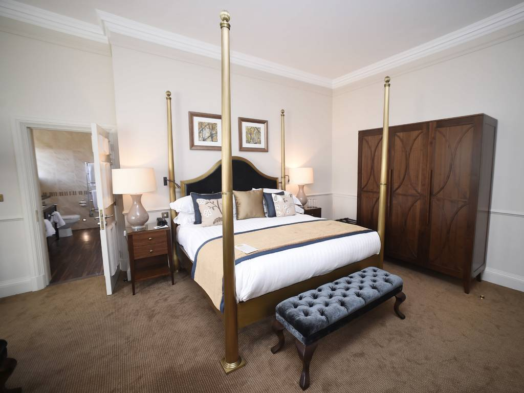 Four Poster room, Crathorne Hall Hotel