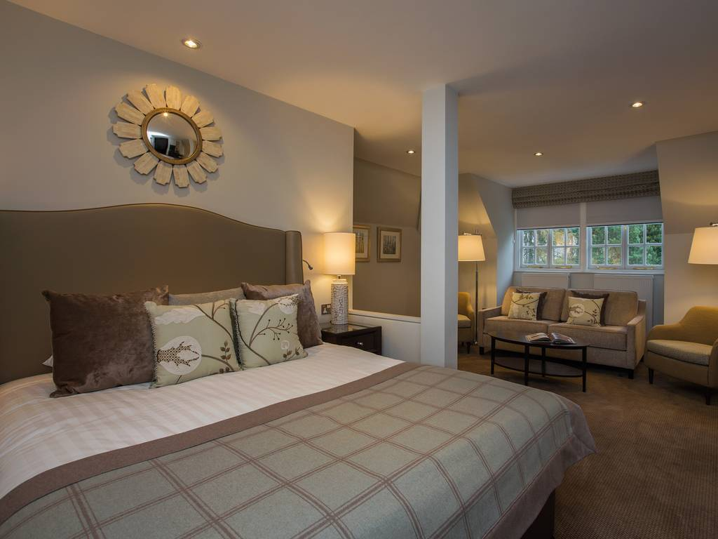 Deluxe Double room, Crathorne Hall Hotel