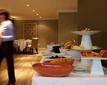 The Cellars restaurant, Highbullen Hotel