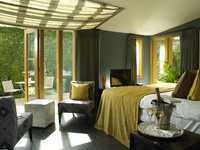 Garden Suite room, Homewood Park Hotel & Spa