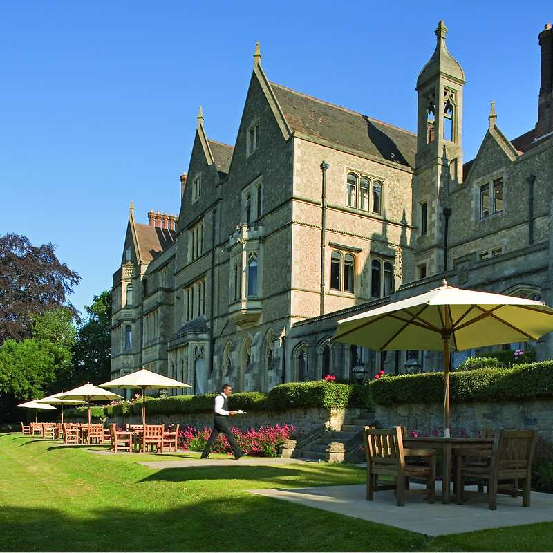 Nutfield priory hotel spa in south east england and for Luxury hotel breaks