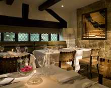 The Brasserie restaurant, Priest House Hotel