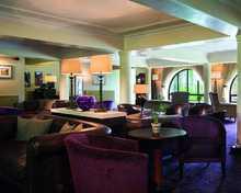 The Lounge Bar restaurant, Rhinefield House Hotel