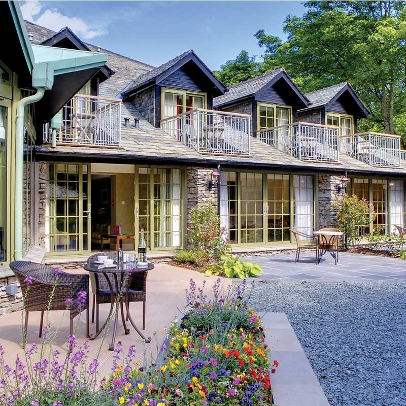 Rothay garden hotel in cumbria the lakes and grasmere for Luxury hotel breaks