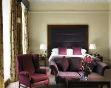Deluxe room, Shrigley Hall Hotel