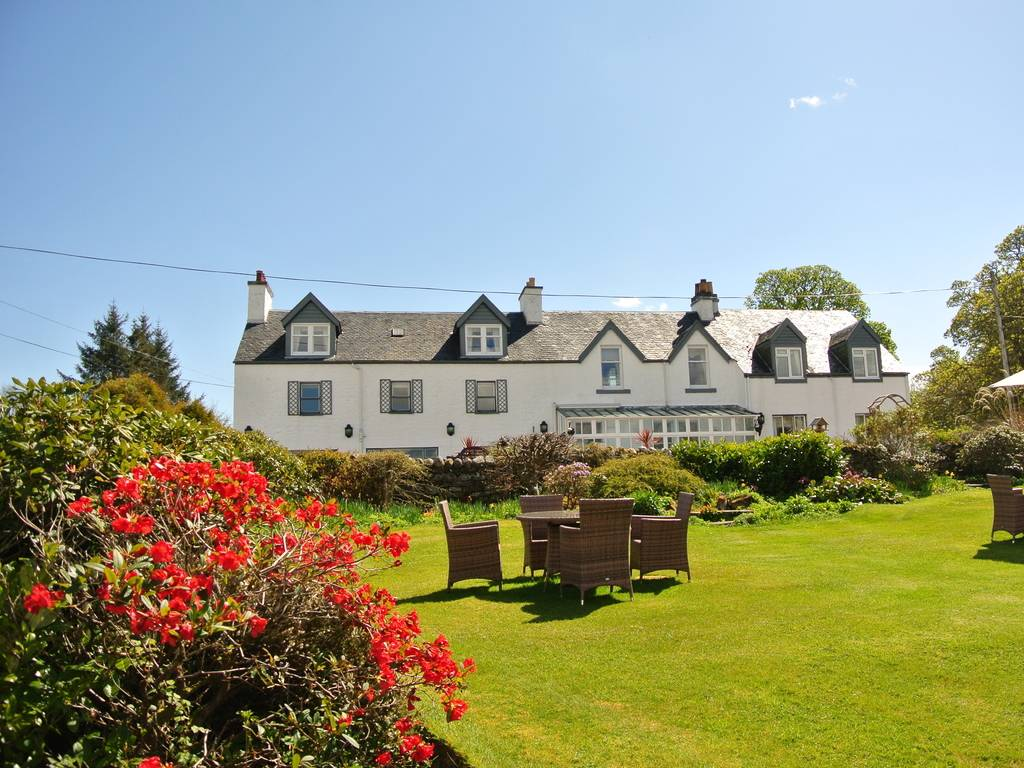 The airds hotel in west coast scotland and port appin for Luxury hotel breaks
