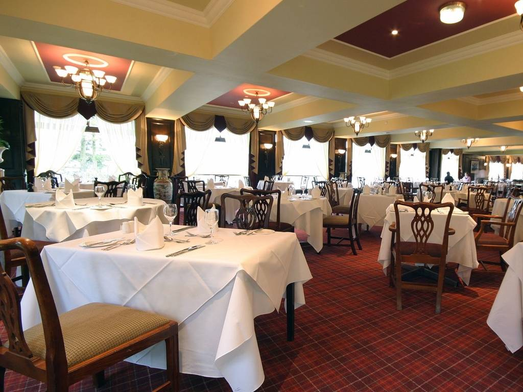 Burlington's restaurant, The Beech Hill Hotel
