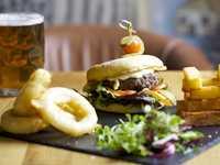 Bar & Courtyard restaurant, The Swan at Bibury