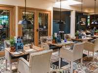 The Swan Brasserie restaurant, The Swan at Bibury