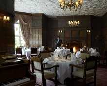 The Oak Room Restaurant restaurant, Tylney Hall