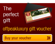 A perfect gift - buy an offpeakluxury gift voucher today!