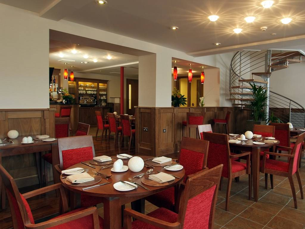 The Courtyard Bar and Brasserie restaurant, Armathwaite Hall