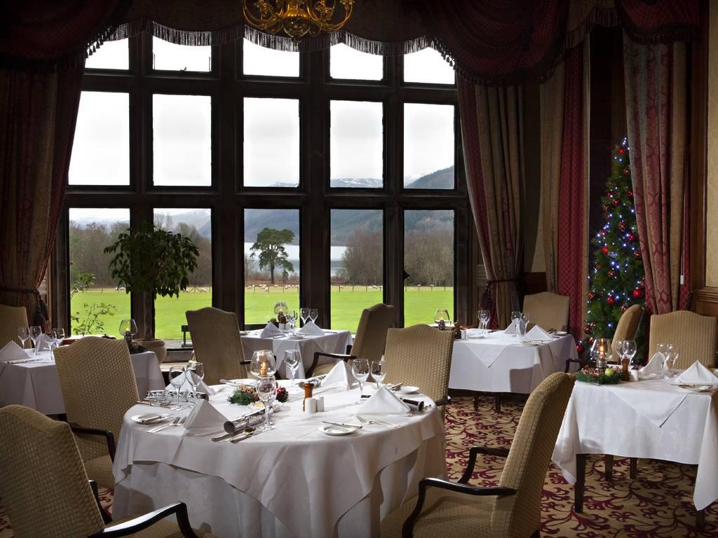 Lake View Restaurant, Armathwaite Hall