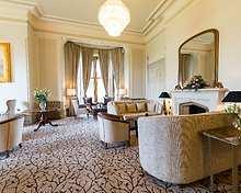 The Lounge and Conservatory restaurant, Armathwaite Hall