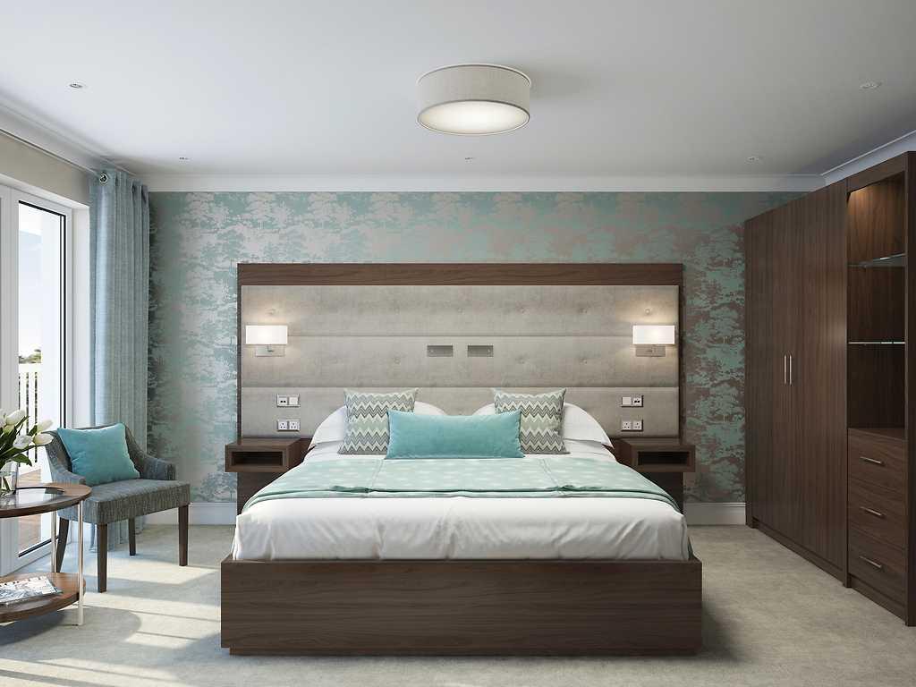 Junior room, Auckland House Hotel