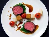 Beresford restaurant, Balmer Lawn Hotel