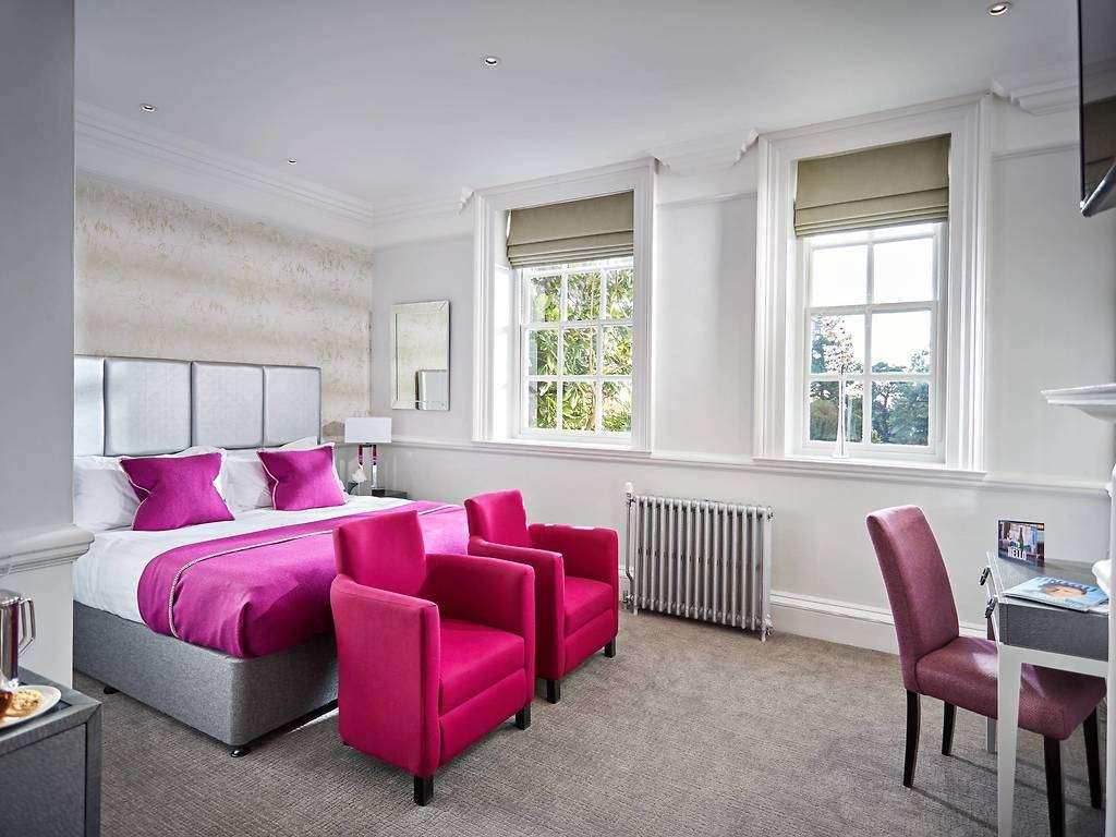 Luxury Super King room, Barnett Hill Hotel