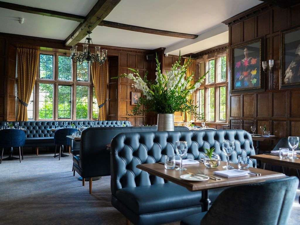 The Stuart Restaurant restaurant, Billesley Manor Hotel