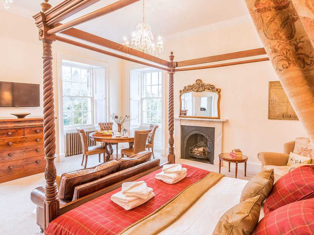 Royal room, Carberry Tower Castle and Estate