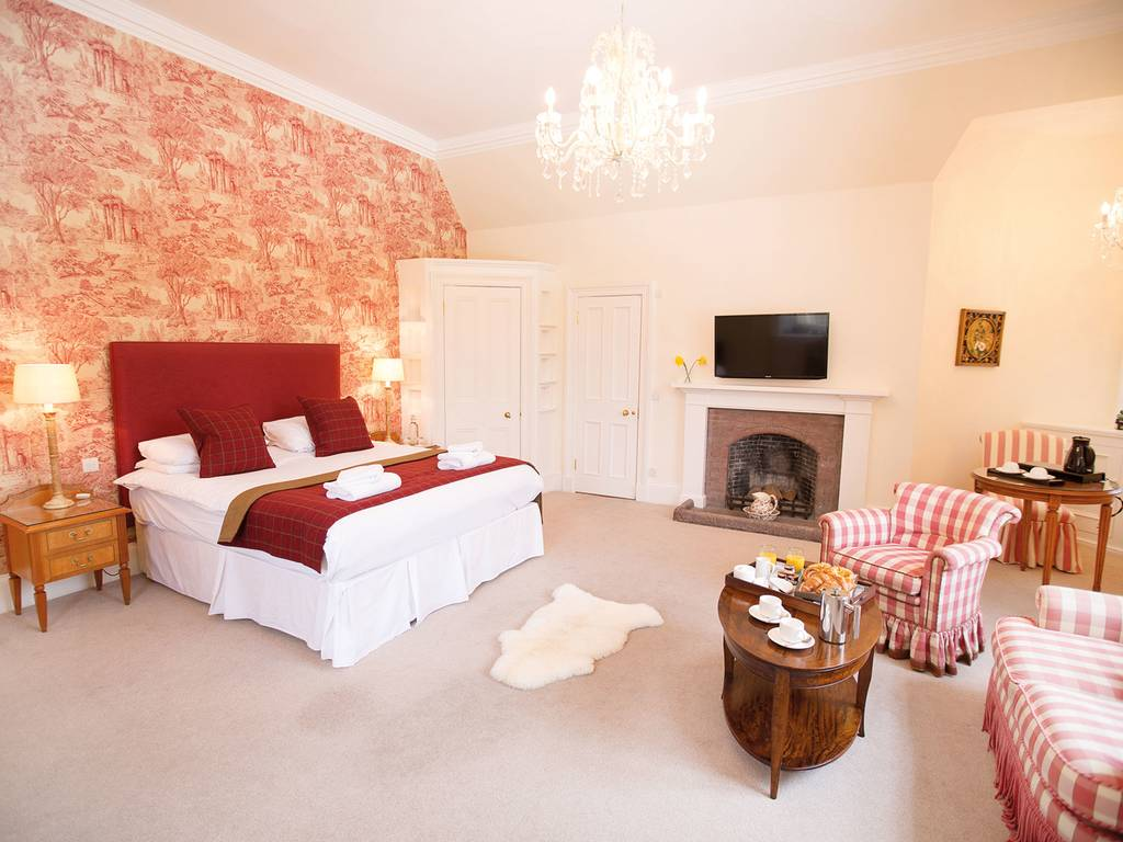 Grande room, Carberry Tower Castle and Estate