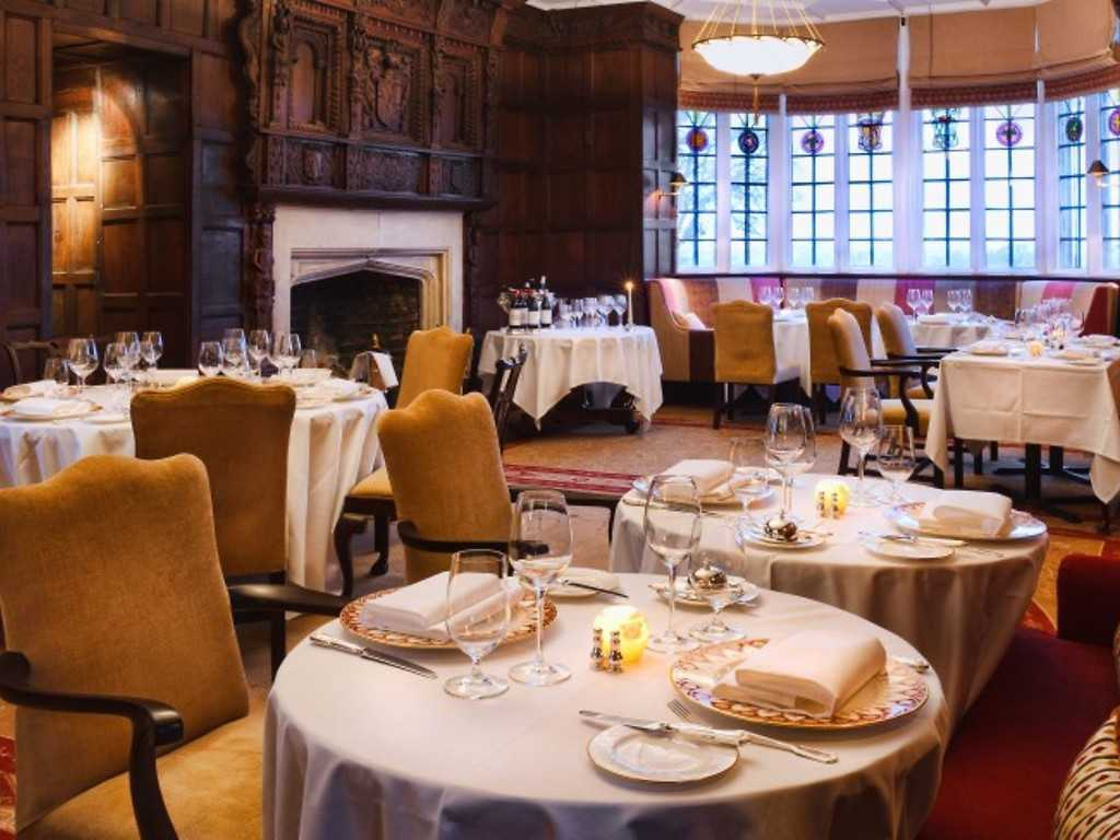 The Beaufort Dining Room restaurant, Ellenborough Park Hotel