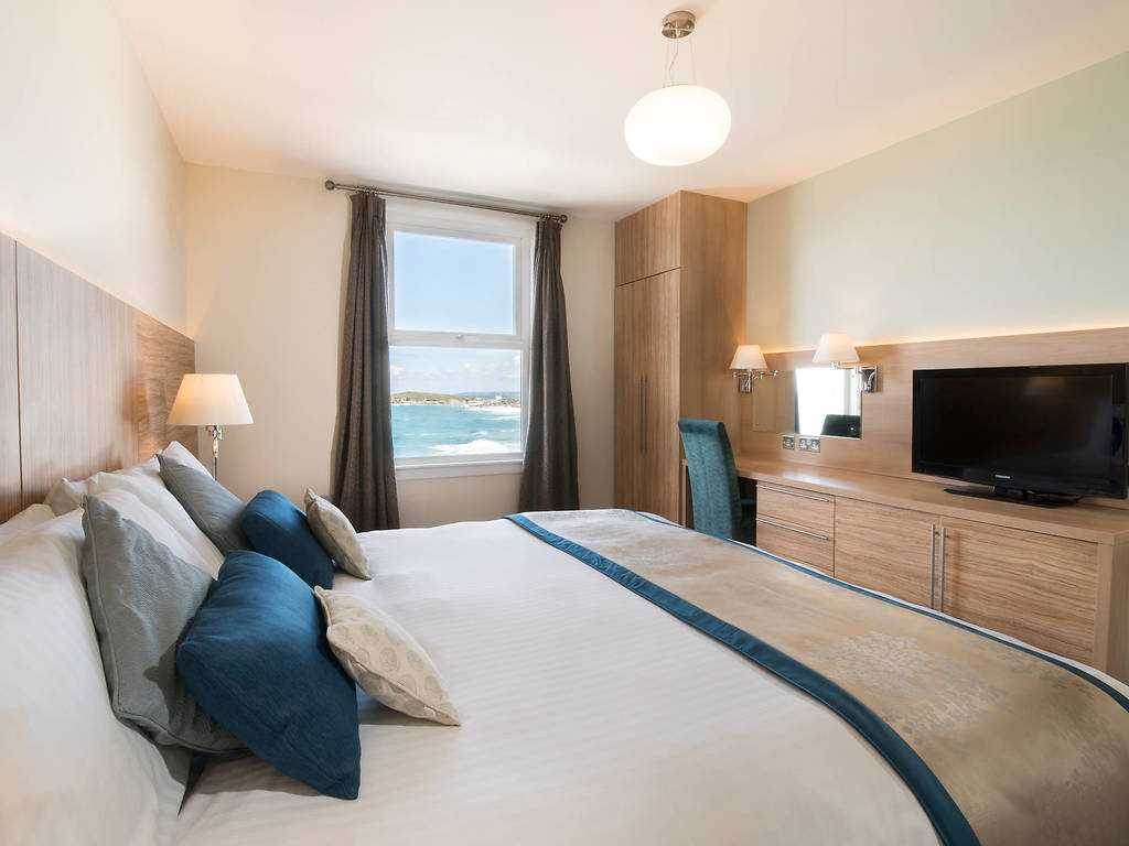 Sea View room, Fistral Beach Hotel and Spa
