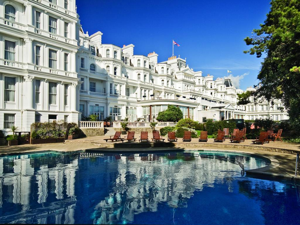 Grand Hotel Eastbourne in South East England and Eastbourne