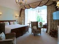 room, Highbullen Hotel