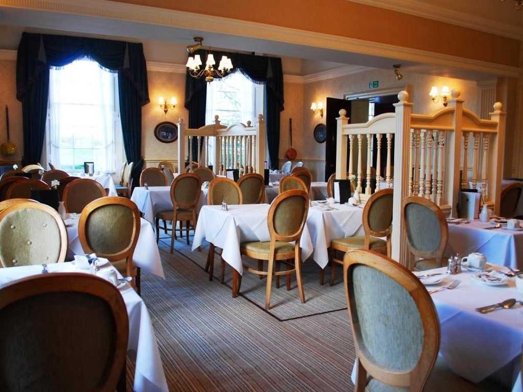 Spring Menu restaurant, Lamphey Court Hotel