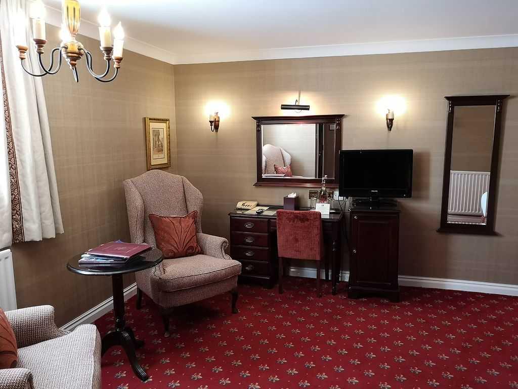 Castle View Standard room, Langley Castle