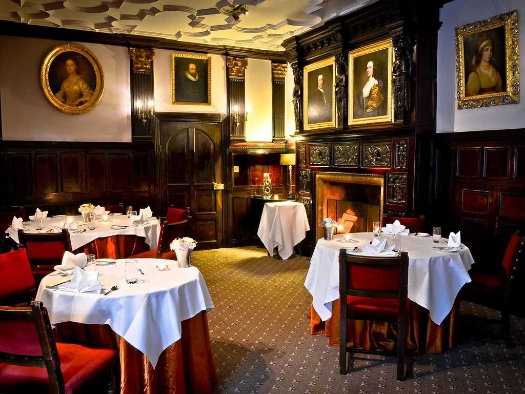 The Restaurant restaurant, Lewtrenchard Manor