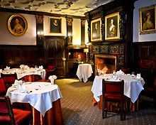 The Restaurant restaurant, Lewtrenchard Manor