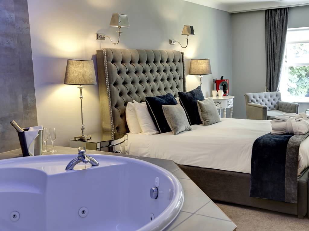 Deluxe room, Moor Hall Hotel and Spa