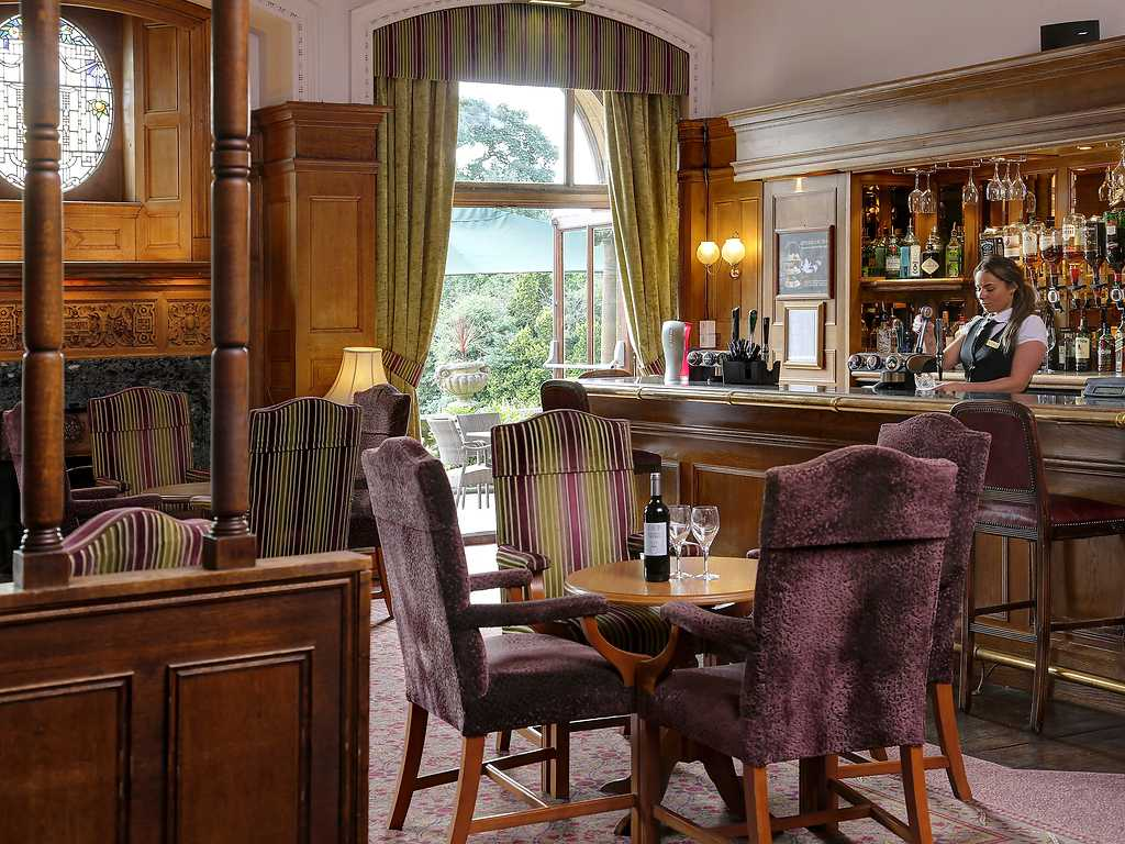 The Bar and Terrace, Moor Hall Hotel and Spa
