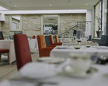 The Brasserie restaurant, Raithwaite Estate