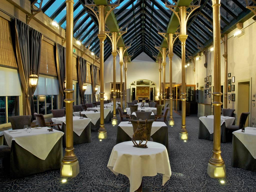 The Orangery restaurant, Rockliffe Hall Hotel