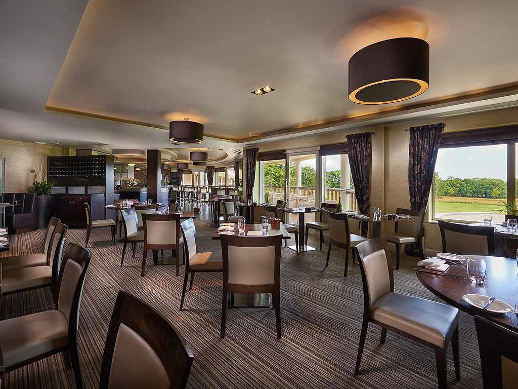 The Brasserie restaurant, Rockliffe Hall Hotel