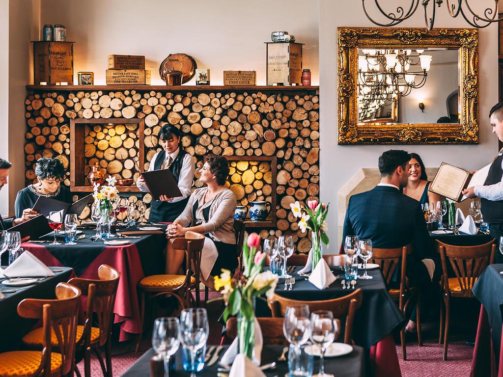 Sister Charlotte's restaurant, Stanbrook Abbey Hotel