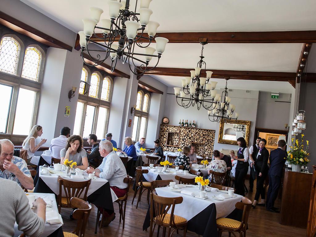 Sister Charlotte's restaurant, Stanbrook Abbey