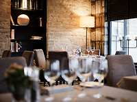Library Restaurant restaurant, The Bear of Rodborough Hotel