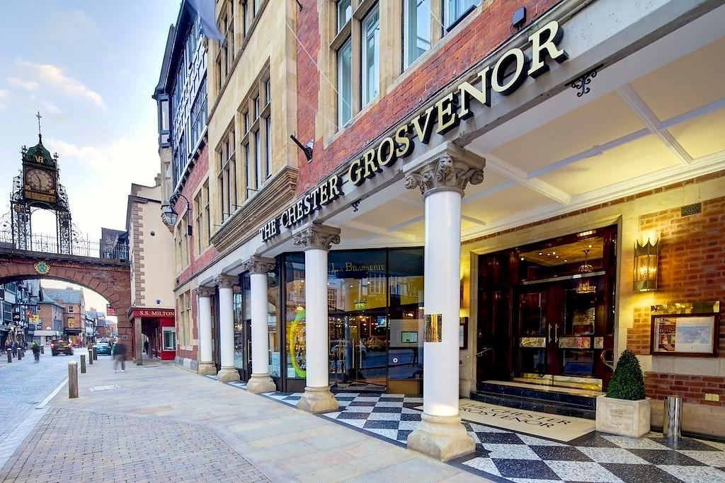 the chester grosvenor hotel in north west england and chester city