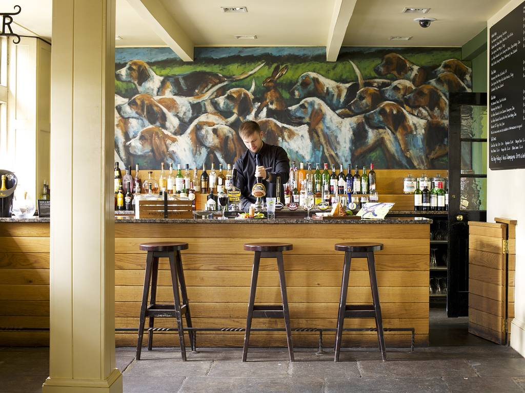 Jack Hare's Bar restaurant, The Hare and Hounds