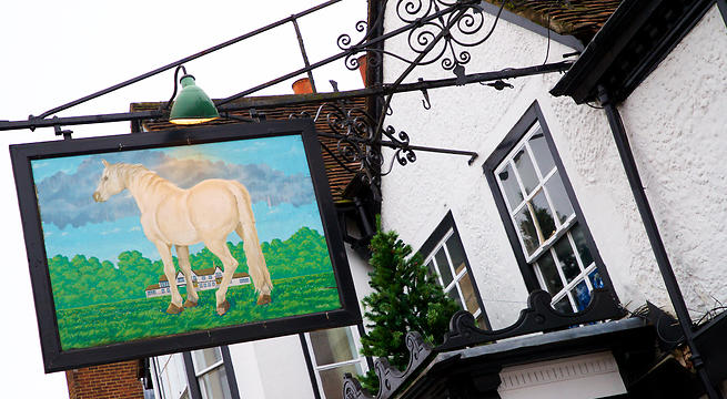 The White Horse, Dorking
