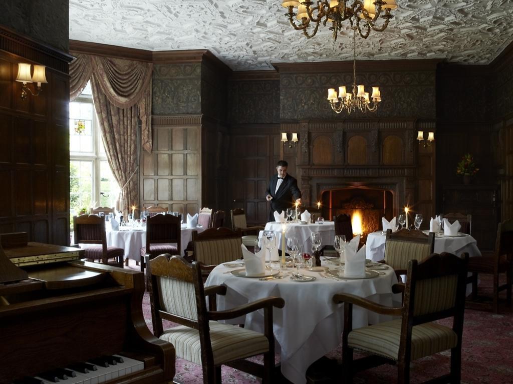 The Oak Room Restaurant restaurant, Tylney Hall