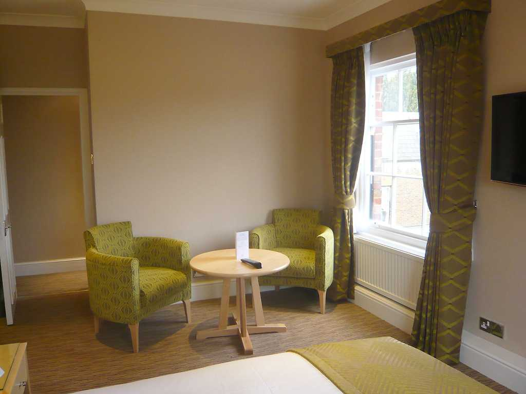Hadley room, West Lodge Park Hotel