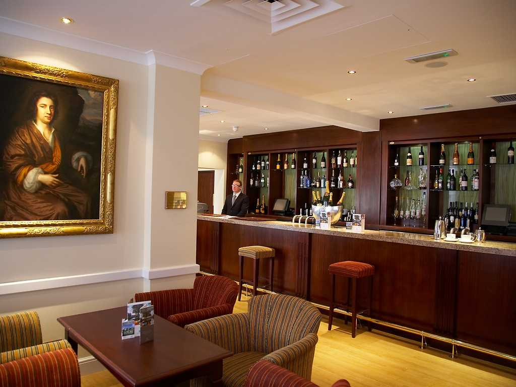 Terrace Bar restaurant, West Lodge Park Hotel