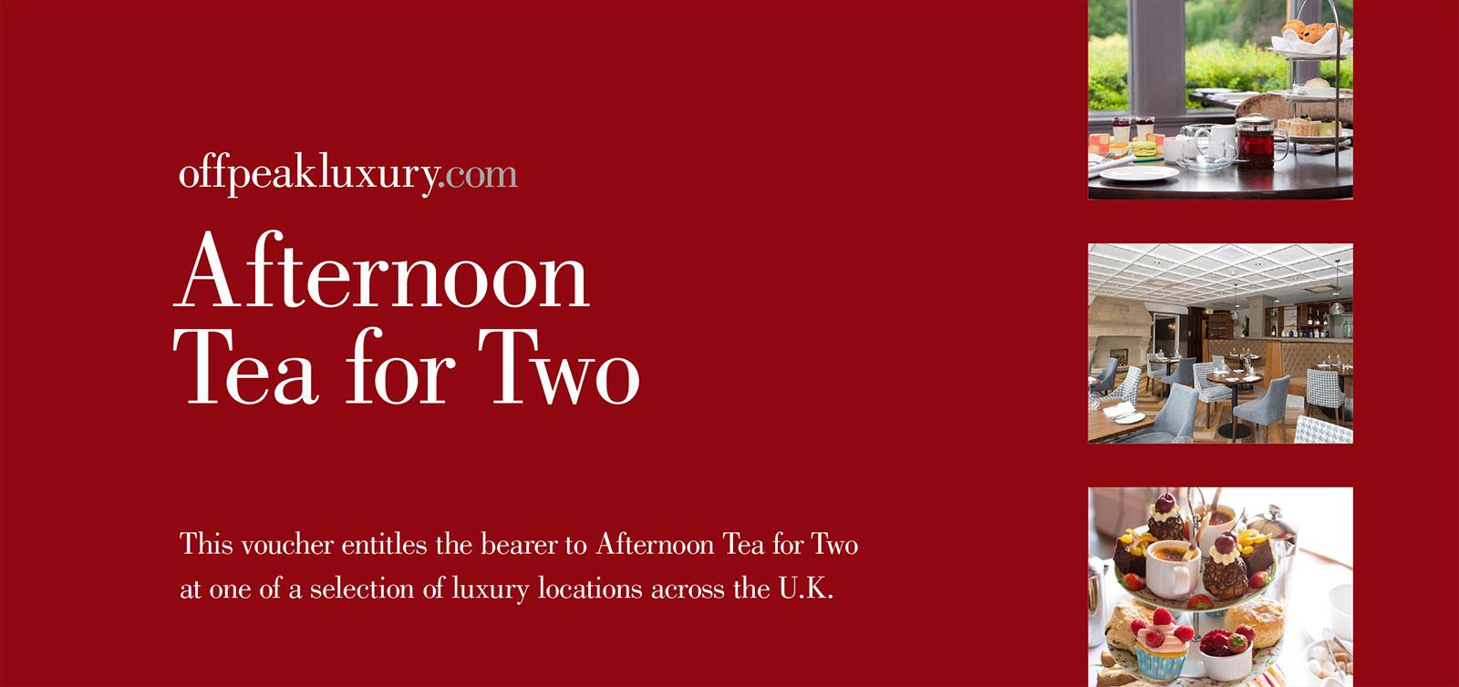 Buy Luxury Afternoon Tea Voucher Online With Offpeakluxury