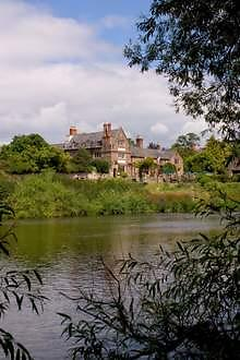 Wilton Court across river